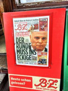 Uli Hoeneß am Pranger der Berliner BZ