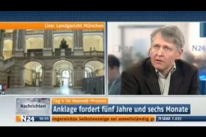 Günter Klein bei N24 über den Hoeneß-Prozeß